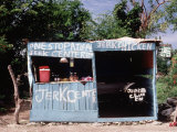 Jerk Chicken Stand, Negril, Jamaica Photographic Print by Debra Cohn-Orbach