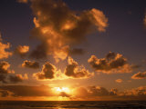 Sunrise at Poipu, Kauai, HI Photographic Print by Elfi Kluck