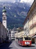 Innsbruck, Tyrol, Austria Photographic Print by Walter Bibikow