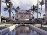 Palm Beach Town Hall, Palm Beach, FL Photographic Print by Robin Hill