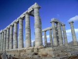 Temple of Poseidon, Cape Sounion, Greece Photographic Print by Phyllis Picardi
