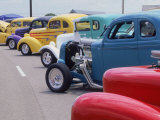 Street Rod Nationals, Louisville, Kentucky Photographic Print by David Davis
