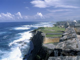 Castillo de San Cristobal Beach, Puerto Rico Photographic Print by Jim Schwabel