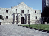 Main Entrance of the Alamo, San Antonio, TX Photographic Print by Chris Minerva