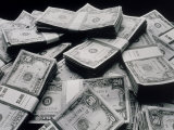 Pile of American Money Photographic Print by Howard Sokol