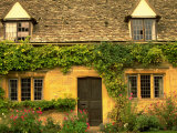 Cotswold Village, Gloucestershire, England Photographic Print by Walter Bibikow