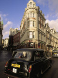 Car on London Street, England Photographic Print by Kindra Clineff