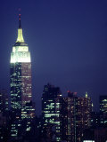 Empire State Building at Night, NYC, NY Photographic Print by Chris Minerva