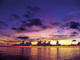 Sunset in the Cayman Islands Photographic Print by Anne Flinn Powell