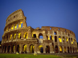 Exterior Amphitheater Ruins, Rome, Italy Photographic Print by Doug Mazell