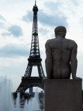 Eiffelturm, Paris Fotodruck von Alan Veldenzer