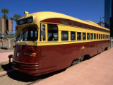 Old Fashioned Bus, Phoenix, AZ Photographic Print by James Lemass