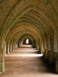 Monastère cistercien, Fountains Abbey, Angleterre Photographie par Lauree Feldman
