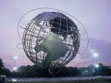 Unisphere, Flushing Meadow Park, NY Photographic Print by Barry Winiker
