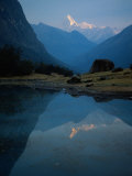 Stream by River, Cordillera Blanca, Peru Photographic Print by Mitch Diamond