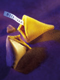 Fortune Cookie with Internet Address Inside Photographic Print by Eric Kamp