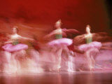 Ballerinas Photographic Print by John T. Wong