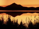 Sunset and Lake, Mt. Shasta, CA Photographic Print by Kyle Krause