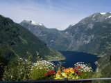 Geiranger Fjord, Norway Photographic Print by Grayce Roessler