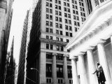 Wall Street, New York, NY Photographic Print by John Glembin
