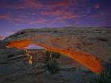 Sunrise at Mesa Arch in Canyonlands National Park, UT Photographic Print by David Davis