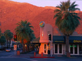 Sunset on Downtown Street, Palm Springs, CA Photographic Print by Harold Wilion