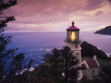 Faro di Heceta Head, costa dell'Oregon Stampa fotografica di Stuart Westmorland