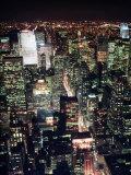 Midtown and North from Empire State Building, NYC Fotografie-Druck von Rudi Von Briel