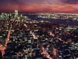 Manhattan South, from Empire State Building, NYC Fotografie-Druck von Rudi Von Briel
