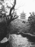 View Marble Mountain, Temple, Danang Photographic Print by Walter Bibikow