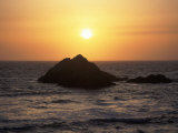 Seal Rock at Sunset, San Francisco, CA Photographic Print by Daniel McGarrah