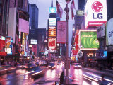 Times Square at Night, NYC, NY Fotodruck von Rudi Von Briel