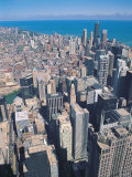 Aerial View of Chicago, Illinois Photographic Print by Jim Schwabel