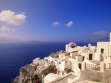 Santorin, Gr&#232;ce Photographie par Walter Bibikow