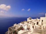 Santorini, Grecia Stampa fotografica di Walter Bibikow