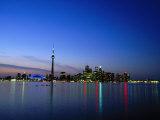 Horizon de l'Ontario, Toronto, Canada Reproduction photographique par Angelo Cavalli