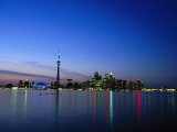 Ontario Skyline, Toronto, Canada Photographic Print by Angelo Cavalli