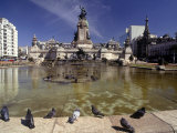 Buenos Aires, Plaza Del National Congress Photographic Print by Silvestre Machado