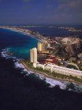 Cancun, Quintana Roo, Mexico Fotografiskt tryck av Walter Bibikow