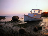 Boat on Shore, Jonesport, ME Photographic Print by Kindra Clineff