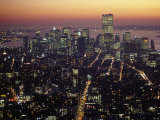 New York City Skyline at Night, NY Photographic Print by Barry Winiker