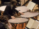 Orchestra Timpanist Photographic Print by William Swartz
