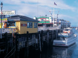 Boats at Fishermans Wharf, CA Photographic Print by Claire Rydell