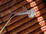 Match and Cigars Fotografisk tryk af John James Wood