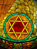 Stained Glass Window Photographic Print by Jeff Greenberg