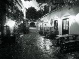 Empty Cafe, Austria Fotografisk tryk af Dan Gair