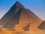 Pyramids, Cairo, Egypt Fotografie-Druck von Peter Adams