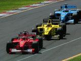 Peter Walton - Formula 1 Auto Race Fotografická reprodukce