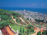 Baha'i Shrine and Garden, Israel Photographic Print by Barry Winiker