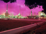 Oil Refinery, Indonesia Photographic Print by Lonnie Duka